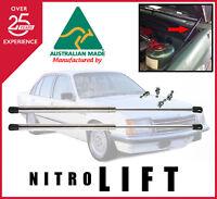 Stainless steel Holden Commodore VB VC VH VK VL bonnet gas strut kit-New Pair