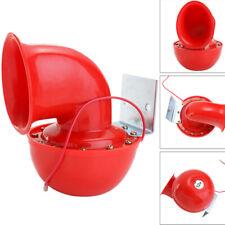 Electric Red Loud 12V 200dB Bull Motorcycle Air Horn Car Boat Speaker Trumpet