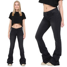 Bootcut Low Rise Jeans Faded for Women