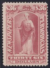 US STAMP BOB #PR77 $36 Indian red1879 Newspaper Periodicals Stamp UNUSED/RG $350