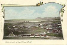 peru, Puno con Vista al Lago Titicaca (1899) Eduardo Polack, No. 121