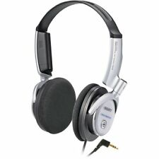 Sony MDR-NC6 Silver Noise-Cancelling Wired Headphones On-Ear (new pads) & Case
