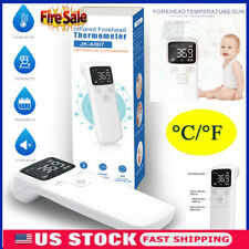 Us Digital Non-Contact Infrared Forehead Thermometer Adult/Baby Temperature Gun