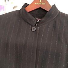 STUDIO G~Women's Size 1X Plus Size~ Black~Blazer Jacket Coat~New W Tag MSRP $128