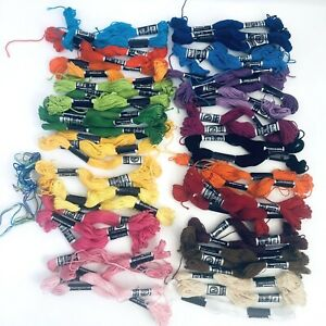 Janlynn DFN Embroidery Craft Thread Floss Skeins Colors 100% Cotton Approx 55