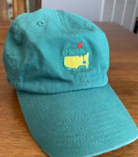 Masters Golf Tournament Hat Green Embroidered