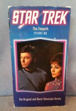 Star Trek Episode 63 The Empath VHS The Original Uncut TV Series Blue Jacket