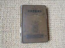 Francis Bacon: His Life and Philosophy, John Nichol, Part 1, ~1901, Rare vintage