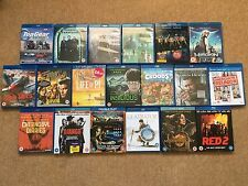 19 x Blu-Ray BluRay Bundle Job Lot - UV Digital - Horror Action Comedey #01