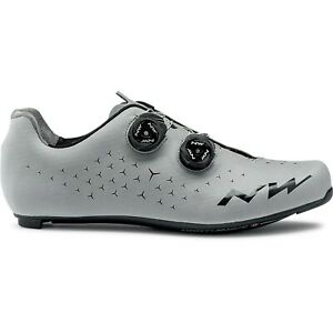 Northwave Revolution 2 Road Cycle Shoes Silver Carbon Sole UK 8½ EU42 RRP £175