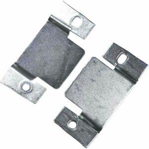 4 X Metal Corner sofa Interlocking connecting clips/Plates/Bracket/For Divan bed