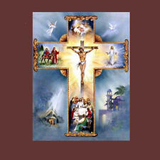 5D Diamond Painting Jesus Christ Religious Cross Stitch Kit DIY Craft Home Decor