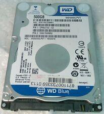 """500GB WESTERN DIGITAL WD WD5000LPVT hard disc drive 7mm SATA 2.5"""""""