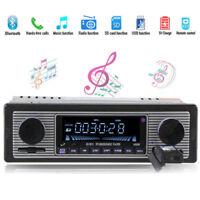 Car Radio 1Din Bluetooth LED Display Stereo MP3 Music Player FM AUX USB SD NEW