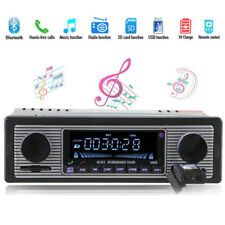 AUTORADIO 1DIN BLUETOOTH DISPLAY LED AUDIO MP3 LETTORE MUSICALE FM DEI USB SD