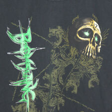 Boomslang T Shirt Moment of Truth Black Green Skull Size Large