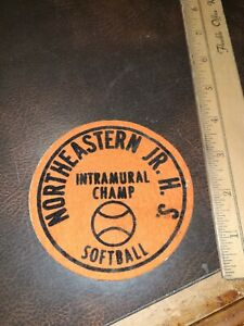 Vintage School District Patch Northeastern Jr High School Intermural Softball