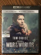 WAR OF THE WORLDS 4K UHD + Blu-ray + Tons Of Extras TOM CRUISE STEVEN SPIELBERG