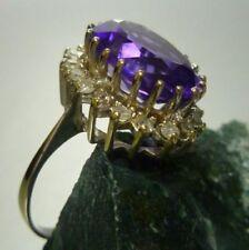 Anelli di lusso oro bianchi diamante , Misura anello 17