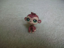 Littlest Pet Shop ❀ 2671 BROWN MOMMA MONKEY WITH GREEN EYES