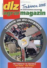 dlz Traktoren 2005 Belarus Hürlimann Lamborghini Steyr tractor Claas Jaguar