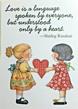 New ListingMary Engelbreit Handmade Magnet-Love Is A Language