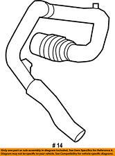 FORD OEM Intercooler-Lower Hose BL3Z6C646A