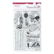BIRD PRINT - CLING MOUNTED RUBBER STAMP SET - Docrafts