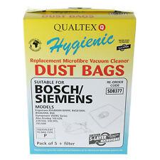 20 x Bosch type P MegaAir SuperTEX microfibre sac à poussière d'aspirateur +