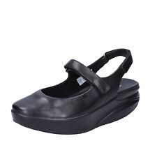 womens shoes MBT KOFFI 6 (EU 39) flats black leather dynamic BX889-39