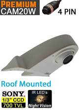 "Easy-Fit (4 pin connector) 1/3"" Sony 700TVL CCD Van White Roof Reversing Camera"