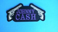 JOHNNY CASH IRON ON PATCH BRAND NEW USA SELLER OUTLAW COUNTRY