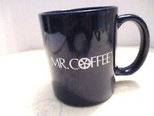Mr. Coffee Navy Blue and White Coffee Cup/Mug