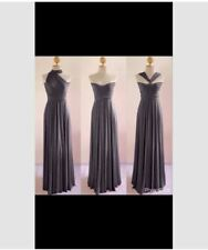 LONG INFINITY DRESS WITH TUBE (GRAY)