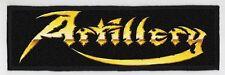 ARTILLERY SUPERSTRIP PATCH / SPEED-THRASH-BLACK-DEATH METAL