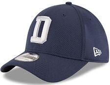 "Dallas Cowboys New Era 39Thirty NFL D NAVY Small / Medium Hat ""NEW with Tags"""