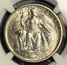 1935-S SAN DIEGO SILVER COMMEMORATIVE HALF DOLLAR COIN NGC MS66