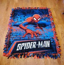 Marvel's Spiderman Fleece Tie Blanket