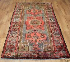 Traditional Vintage Wool Handmade Classic Oriental Area Rug Carpet 210 x 102 cm
