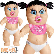 Daddys Girl Inflatable Adults Fancy Dress Baby Toddler Novelty Hen Party Costume