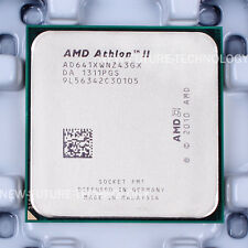 AMD Athlon II X4 641 (AD641XWNZ43GX) CPU 4 MB 2.8 GHz Socket FM1 100% Working
