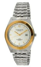Steel Men's Two-Tone Expansion Watch By Timetech