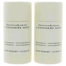 2 x DKNY Donna Karan Cashmere Mist 1.7 oz 50 ml Deodorant Anti-Perspirant Stick
