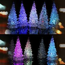 LED Christmas Tree Night Lights Lamp Xmas Home Decor Party Decoration Ornament
