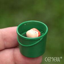 Super Cute Studio Ghibli Ponyo On The Cliff Bucket Resin Figure Micro Landscape
