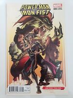 POWER MAN AND IRON FIST #5 (2016) MARVEL COMICS VARIANT COVER! 1ST PRINT!