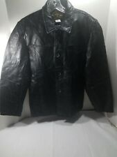 Leather and Soul Womens Ladies Black Patchwork Leather Motorcycle Biker Jacket L