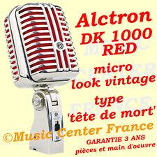 Alctron DK 1000 red (rouge) - dans l'esprit Shure Super 55 - NEUF GARANTIE 3 ANS