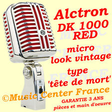 Alctron DK 1000 red (rouge) - micro look vintage - NEUF et GARANTIE 3 ANS