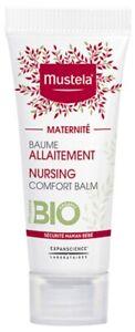 Mustela Maternity Organic Nursing Comfort Balm 10ml comfort soothing nipples